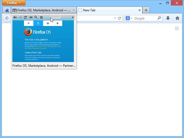 Tab Scope :: Firefox Extension